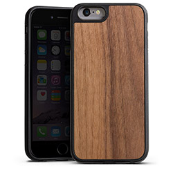 Wooden Silicone Case walnut
